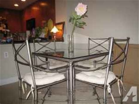 beautiful pier 1 dining table 4 chairs dublin for
