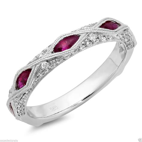 097ct 14k White Gold Diamond Marquise Cut Ruby Vintage. Princess Cut Solitaire Necklace. Wood Grain Rings. Woman Bangles. Cheap Fashion Jewelry. Classic Diamond Engagement Rings. Friend Watches. Black Titanium Bands. Padparadscha Sapphire Earrings