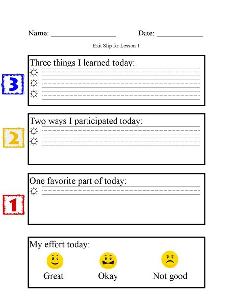 ticket of leave template formative assessment edissa jaramillo s blog