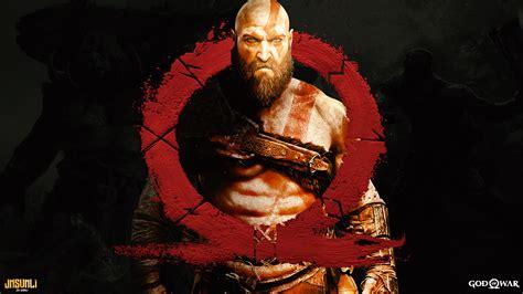 God Of War Desktop Wallpaper Download 1920x1080 God Of War 4 Logo Kratos Wallpapers For Widescreen Wallpapermaiden