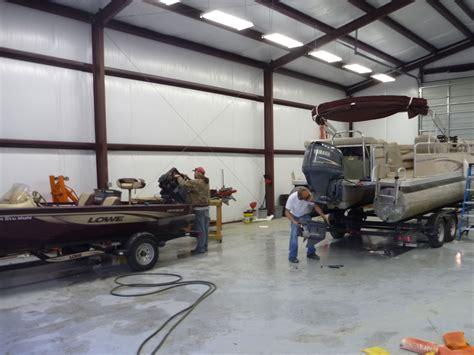 Boat Mechanic Shop by Marine Service Boat Repair On Beaver Lake Lost Bridge