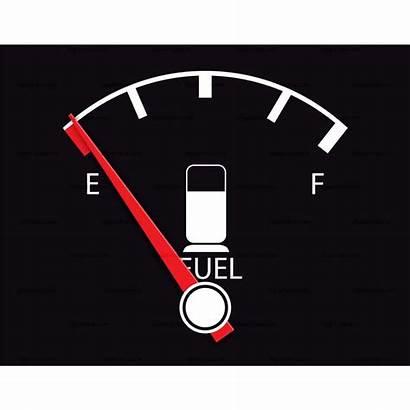 Fuel Gas Clipart Gauge Clip Empty Cliparts