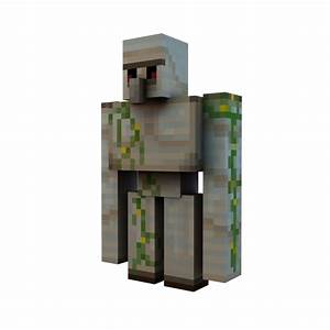 Minecraft Render - Iron Golem by Danixoldier on DeviantArt