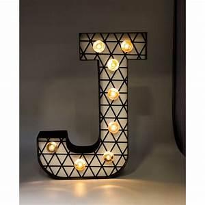 Lettre Lumineuse Deco : decoration lettre lumineuse ~ Teatrodelosmanantiales.com Idées de Décoration