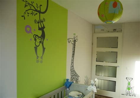 chambre bebe savane deco chambre jungle savane