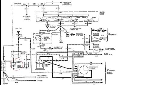 1996 Ford Mustang Starter Wiring Diagram by 1988 Ford F150 4x4 With 4 9l I Need Simple Wiring Diagram