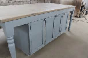 Reclaimed Kitchen Island Custom Kitchen Island From Reclaimed Oak Ecustomfinishes