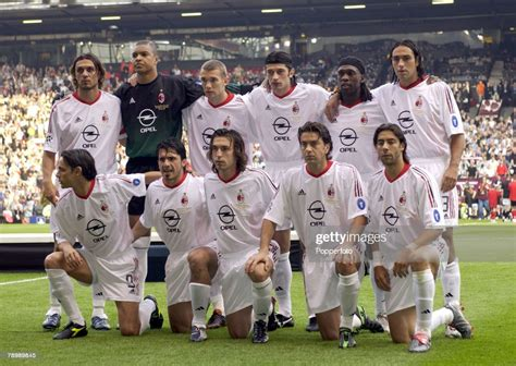 Flashback ucl final 2003 : Football, UEFA Champions League Final, Manchester, England ...