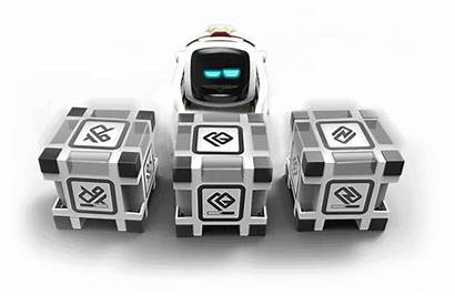 Cozmo Robot Realistic Cubes Play Him Everyone