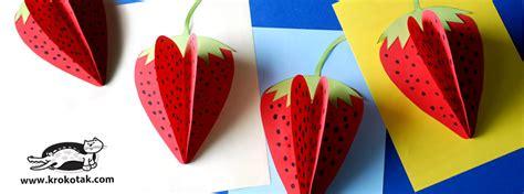 Krokotak  Strawberry Paper Craft Facebook