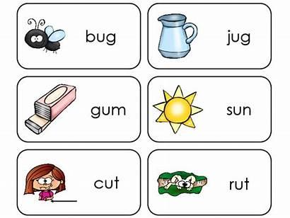 Flashcards Cvc Letter Printable Preschool Word Kindergarten