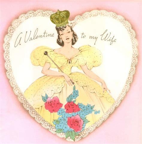 valentine queen wife   vintage valentine