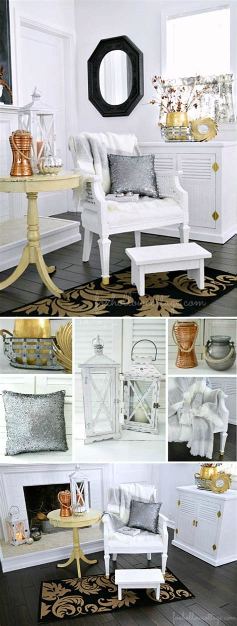 nicole miller table ls budget friendly fall decorating ideas mixed metals