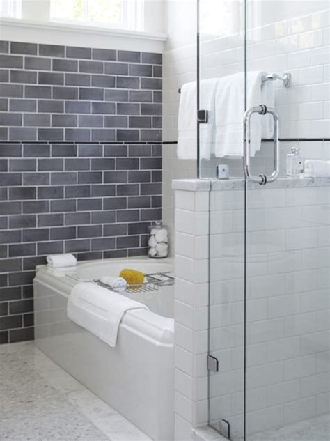 gray tile bathroom ideas subway tile for small bathroom remodeling gray subway tile
