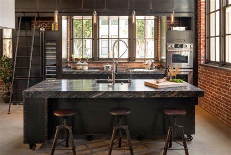 loft kitchen island 40 kitchen island designs ideas design trends 3840