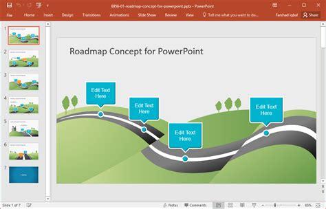 roadmap template powerpoint  roadmap templates