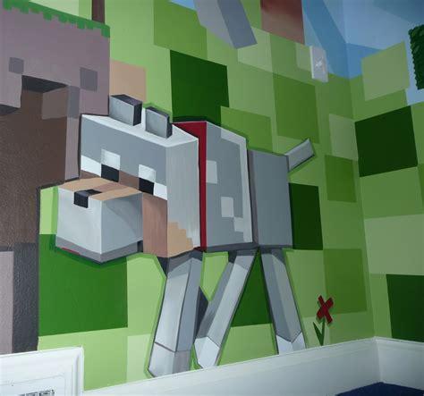 Meme Hill Studio: Minecraft Mural Madness