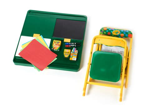 kids woot crayola 4 in 1 activity table chairs