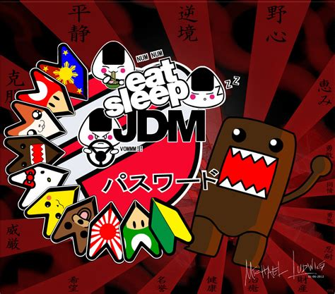 jdm domo by michaelludwig on deviantart
