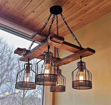 rustic light fixture hanging light rustic lighting