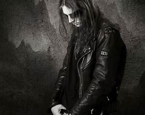 UNLIGHT black metal heavy wallpaper
