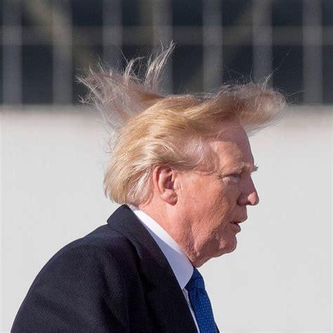 trump taxes hair wrote cut hairstyling donald power his watson afp jim getty via
