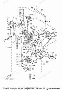 Yamaha Atv 2005 Oem Parts Diagram For Carburetor