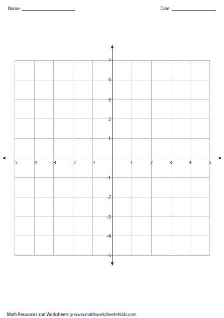images  math grid worksheets quadrant