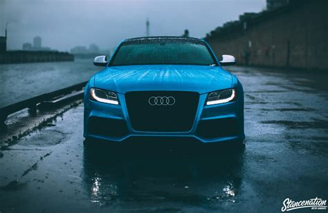 Blue Audi Wallpaper by Audi S5 Audi Car Blue Cars Vehicle Wallpapers Hd