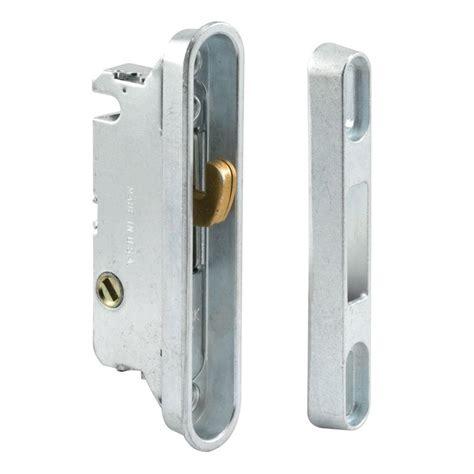 prime line sliding door mortise lock and keeper e 2487