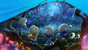 Wallpaper Smurfs: The Lost Village, 2017 Movies, Animation ...