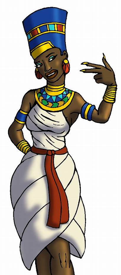 Egyptian Queen Clipart Nefertiti Egypt Deviantart Greets