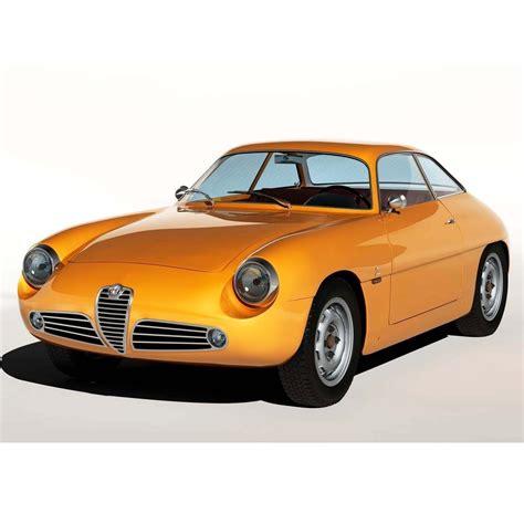 1960 Alfa Romeo Giulietta SZ 3D Model .max - CGTrader.com