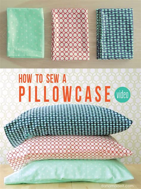 how to sew a pillow how to sew a pillowcase 2 ways 1 yard of fabric made