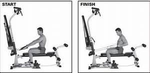 Bowflex Exercises Seated Lat Row Bowflex Bowflex