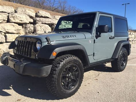 jeep willys 2015 2015 jeep wrangler willys wheeler salvage for sale