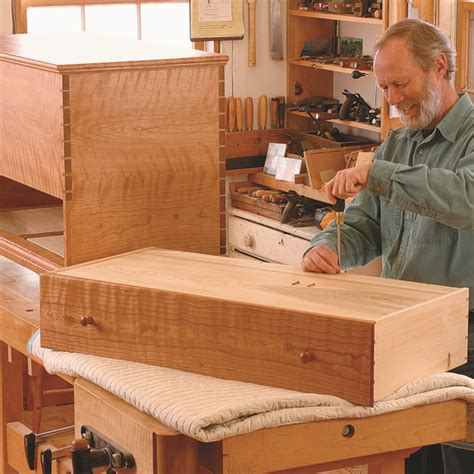 plan shaker blanket chest finewoodworking