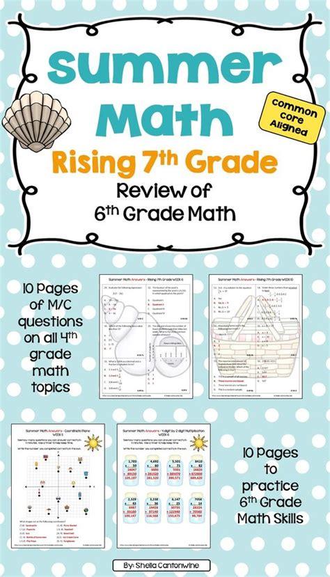 summer math worksheets for 9th grade summer math puzzles