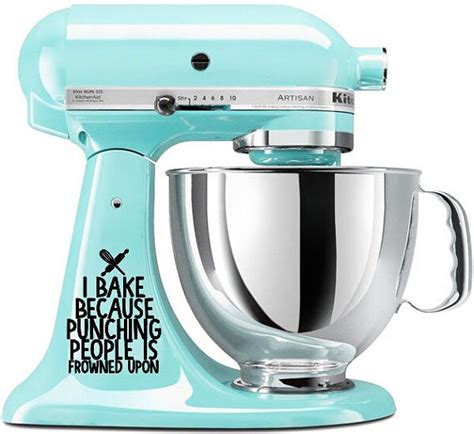 Kitchen Mixer Decals by Kitchenaid Mixer Decals Decorate Your Stand Mixer The