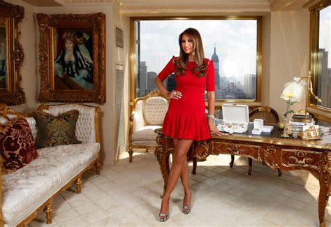 Liberace Mirrored Piano by Inside Donald And Melania Trump S New York City Penthouse