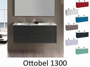Meubles lave mains robinetteries meubles sdb meuble de for Meuble salle de bain 130 cm