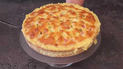 cuisine az dessert gâteau à la rhubarbe de la tante suzanne en vidéo