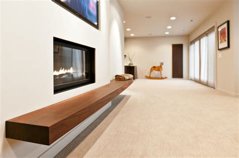 somerset basement floating bench contemporary home