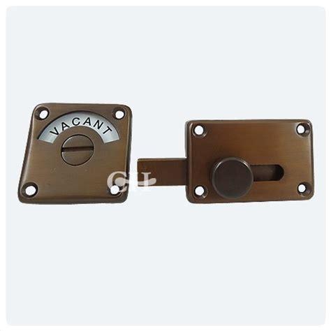 lever door handles 4551 indicator bolt in brass chrome nickel or
