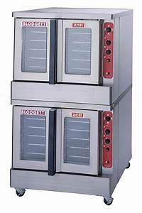 Blodgett Mark V Xcel Double Full Size Xcel Series Double Deck Electric Convection Oven