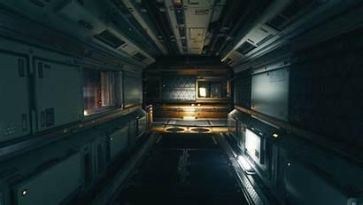 Sci Fi Environment Corridor Modular Premise Space