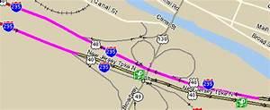 Map Of The Delaware Memorial Bridge Approach  I