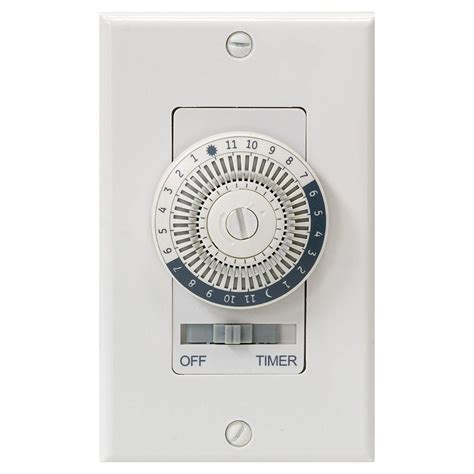 christmas light timer home depot ge 24 hour in wall basic timer 15070 the home depot
