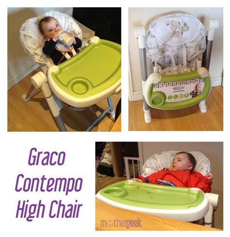 graco contempo highchair mothergeek review