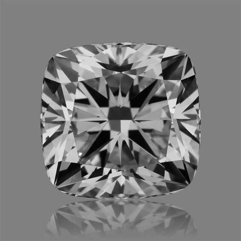 1.50ct Cushion Modified Brilliant cut Diamond of H color ...